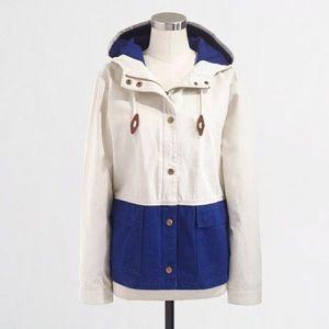 J. Crew Colorblock Anorak Jacket